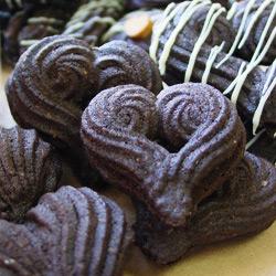 ハートのブラッククッキー