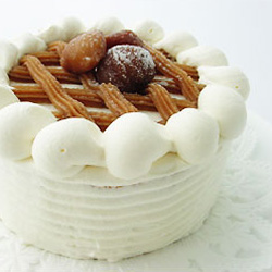 マロンショートケーキ