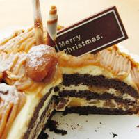 クリスマスケーキ・モンブラン