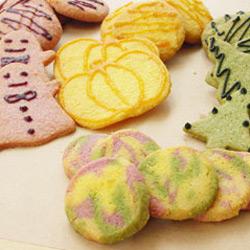 野菜パウダーを使ったクッキー