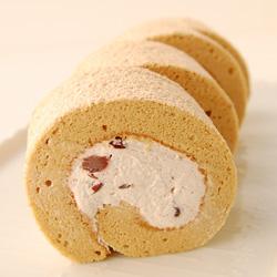 玄米ロール(米粉を使ったロールケーキ)