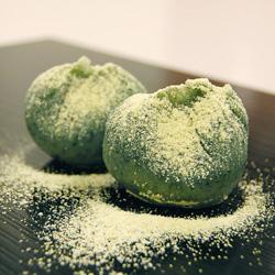 草餅(電子レンジで作る草餅・玄米餅)