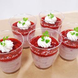 ichigomilk-pudding